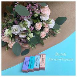 🌿En partenariat avec Bastide Aix-en-Provence beauté et bien être, tous nos bouquets vous sont livrés avec une pochette de 4 jolis petits parfums signés Bastide pour encore plus de bonheur🌿
