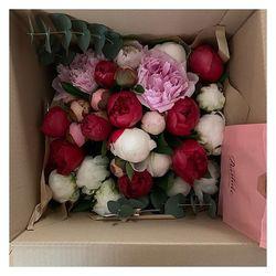 🌿Vous nous l'avez beaucoup demandé le «bouquet de pivoines de Doris» c'est chose faite.  Il est en ligne sur le shop🌿 #pivoines #livraisonadomicile #aixmaville