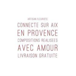 🌿Comme Sylvie, Laura, Sophie, Marie, Laurent...Faites plaisir à ce que vous aimez en faisant  livrer gratuitement sur Aix et pays d'Aix un bouquet Blossom🌿Tous nos bouquets sont livrés avec une pochette de petits parfums de chez Bastide Aix-En-Provence 💃💕