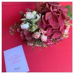 🌿Le petit septembre est composé d'hortensias, de roses grappes, et de lisianthus...🌿 #flowers #hortensia #bouquetdefleurs #livraisonadomicile #aix #aixmaville #blossom #bastideaixenprovence